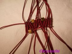021 (Small) Macrame Tutorial, Macrame Bracelets, Petra, Tutorials, Patterns, Ideas, Diy Kid Jewelry, Thread Bracelets, Embroidery