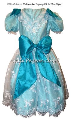 Aqua Clara Nutcracker Ballet Party Scene Dresses - Style 727