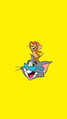 tom and jerry wallpapers Wallpaper Do Mickey Mouse, Cartoon Wallpaper Iphone, Disney Phone Wallpaper, Cute Cartoon Wallpapers, Cute Wallpaper Backgrounds, Aesthetic Iphone Wallpaper, Hd Wallpaper, Tom And Jerry Hd, Tom Und Jerry Cartoon