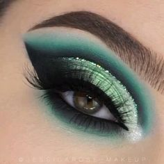 Makeup Eye Looks, Eye Makeup Steps, Eye Makeup Art, Blue Eye Makeup, Smokey Eye Makeup, Eyeshadow Looks, Eyeshadow Makeup, Summer Eyeshadow, Drugstore Makeup