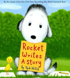 This is an amazing book to teach the writing process to young children!  It's full of great vocabulary as well.