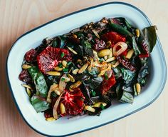 Rainbow Chard and Wild Rice Salad with Blood Orange Vinaigrette | 31 Delicious Things You Should Eat In January