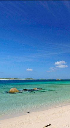 Tresco: Walk on silent stretches of white sand beaches. Call 0345 470 8558 for more information. Places To Visit Uk, Oh The Places You'll Go, Great Places, Places To Travel, British Beaches, Uk Beaches, Devon, Scilly Island, Cornwall Beaches