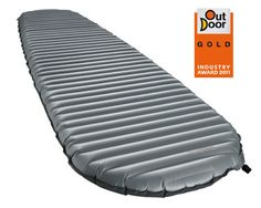The NeoAir XTherm air mattress delivers, by far, the greatest warmth-to-weight ratio available in any air mattress, allowing you to go lighter than ever in winter conditions. ThermaCapture Radiant Heat Technology gives it true four-season warmth without the weight or bulk usually found in a winter-worthy mattress. The result is a mattress that weighs less than a pound and takes up about the same space as your water bottle. Pump sack and repair kit included.