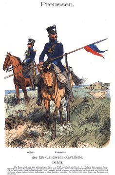 Knötel-Tafel 07/18, Prussia Landwehr Cavalry