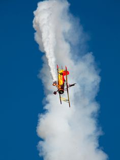 Gene Soucy's Grumman biplane