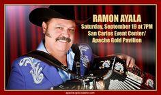 RAMON AYALA...'LIVE'... at Apache Gold Casino & Resort!