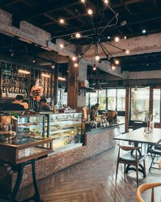 Chiang Mai is one of the best places in the world to work as a digital nomad. These are our 9 best cafes to work in Chiang Mai. Cozy Coffee Shop, Coffee Shop Design, Rustic Coffee Shop, Vintage Coffee Shops, Restaurant Interior Design, Cozy Cafe Interior, Industrial Restaurant Design, Bakery Interior, Modern Restaurant