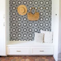 This could be magazine cover for sure! Great job by @juliafisherdesign and @mamabeholdingittogether in Bakersfield, CA. The Bordeaux pattern acts as a stunning focal point of this laundry room. #Repost @mamabeholdingittogether ・・・ Love my laundry room Julie! @juliekfisher @juliafisherdesign • #laundry #laundryroom #cementtileshop #cementtile #cementtiles #concretetiles #concretetile #spanishtiles #spanishstyle #encaustictiles #encaustictile #hydraulictiles #moroccantiles #cubantile #me...