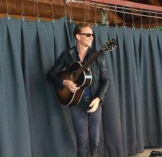 Tom Hiddleston. Wheatland Festival. Via Twitter.