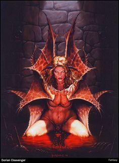 Erotic dragon fantasy video