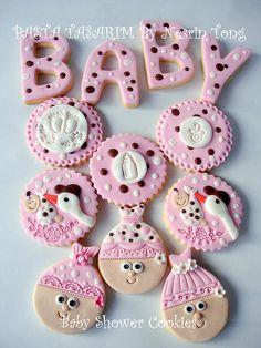 BABY SHOWER COOKIES  by PASTA TASARIM, via Flickr