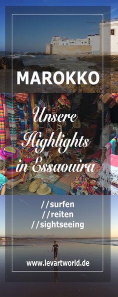 Tipps und Sehenswürdigkeiten in Essaouira – Marokko mit Kind. Tipps für Aktivitäten in Essaouira in Marokko.