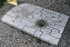 Tomba di Carlo Scarpa - Complesso Monumentale Tomba Brion - San Vito d'Altivole, Treviso, Italia / 1978 / Tobia Scarpa