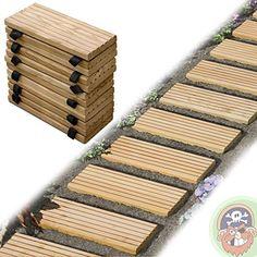 Rollweg Holz 35x250 cm Gartentritte Holz-Tritte, Holz-Fliesen für den Weg im Garten von Gartenpirat® Gartenpirat http://www.amazon.de/dp/B00AYXO0V8/ref=cm_sw_r_pi_dp_xEP5vb0EQZ6RG