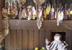 Tokio  Japan Tempel Mönch