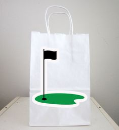 Golfing Goody Bags, Golfing Party Favor Bags, Golfing Gift Bags, Golf Goodie Bags, Golf Goody Bags by CraftyCue on Etsy