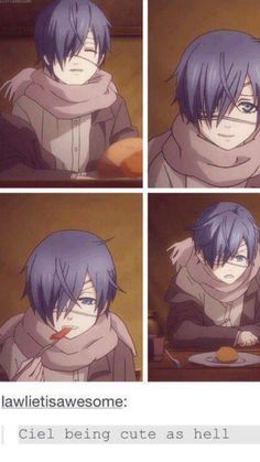 Don't you mean Ciel at any given point?