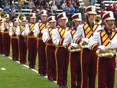 UM marching band #gogriz