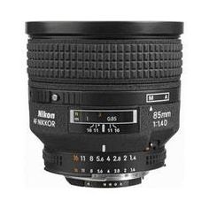 Nikon Telephoto AF Nikkor 85mm f/1.4D IF Autofocus Lens