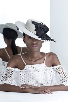 Handmade hats of a Brazilian label right out of wonderland. Embroidered Hats, Winter White, Ethical Fashion, Product Launch, Shopping, Headpieces, Color, Passion, Trends