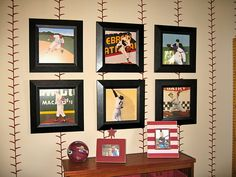 Baseball Stitched Wall.