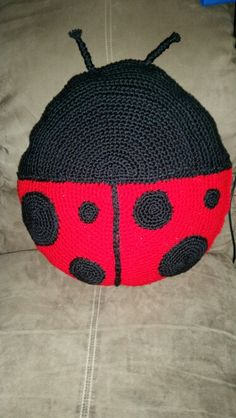 Lasybug pillow