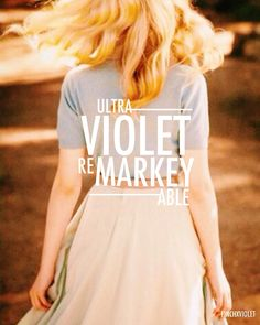 Violet Markey by finchxviolet on IG