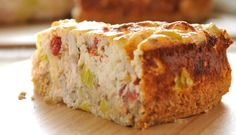 Savoury Philly and Chicken Cheesecake Kraft Recipes, Cookbook Recipes, Cooking Recipes, Philadelphia Recipes, Yummy Treats, Yummy Food, Cooking Cake, Cake Bars, Bread And Pastries