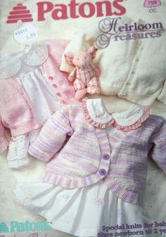 Knitting Patterns Baby Heirloom Treasures Beehive by elanknits