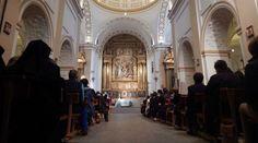 Iglesia de los Padres Carmelitas en Ávila durante celebración de la Eucaristía por V Centenario del nacimiento de Santa Teresa de Jesús. Foto: ACI Prensa
