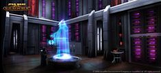 SWTOR Concept Art - Holoprojector