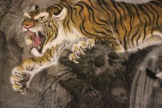World of Ink - Tiger Tattoo Design by Tim Lehi. Best Picture For cool tattoo For Your Taste You are looking for - Samurai Tattoo, Samurai Art, Demon Tattoo, Vintage Mermaid, Mermaid Art, Mermaid Paintings, Japanese Tattoo Art, Japanese Art, Traditional Japanese Dragon