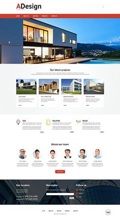 Template 49635 - Architecture  Responsive Website Template