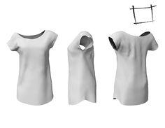 800fcdde7ef FULL PERM Rigged WC Mesh Off Shoulder Long T-shirt Off The Shoulder