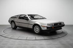 Back to the Future DeLorean Model