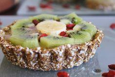 This Rawsome Vegan Life: fruit tarts with chai cream filling