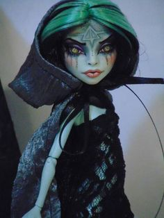 Maria OOAK MonsterHigh Scarah Scream Repaint