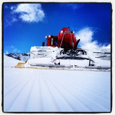 #WantToSki Instagram #ValThorens  #SnowGroomer