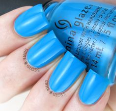 China Glaze - DJ Blew My Mind swatch - Electric Nights Summer 2015 Colletion - IG @GameNGloss