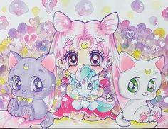 sailor-moon-rei: by akmik Sailor Moon Party, Arte Sailor Moon, Sailor Moon Fan Art, Sailor Moon Character, Sailor Chibi Moon, Sailor Saturn, Sailor Mercury, Sailor Moon Crystal, Disney Marvel