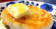イギリス生まれのパン♪ケーキ? イーストで発酵させるから、もっちもち! 捏ねいらずのお手軽なパン! この食感♪絶品です!