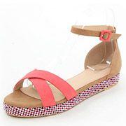 Designed Sole Flat Sandals /KS3488/RANDA