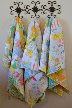 trio of toddler quilts - fronts | Flickr - Photo Sharing!