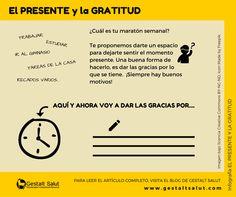 El Psicólogo y Terapeuta Gestalt Jordi Gil comparte una reflexión sobre la gratitud como ejercicio para facilitar el hacer un stop semanal y dejarnos sentir el momento presente. ¿A qué o a quiénes te gustaría dar las gracias aquí y ahora? ¡Hazlo!