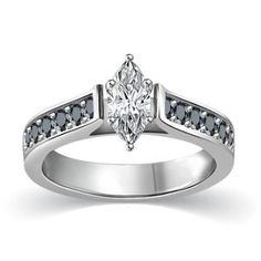 https://ariani-shop.com/1-2-ctw-white-marquise-with-pave-accent-black-diamonds-engagement-ring-in-14k-goldi1-gpremium-quality 1/2 ctw White Marquise with Pave Accent Black Diamonds Engagement Ring in 14K Gold(I1,G)Premium Quality
