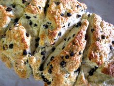 off to make these yummy looking currant scones for breakfast!