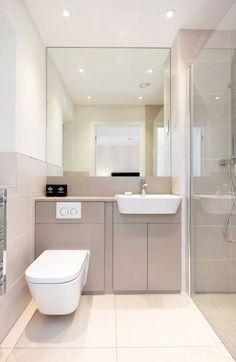 In deisem Artikel findet ihr 7 ideen für euer kleines Badezimmer. Dieses hier wurde von WN Interiors of Poole designed.