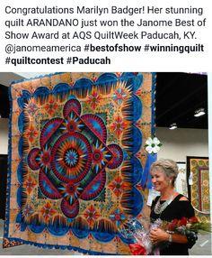 DAISY CHAIN by Laura Welklin. Best miniature quilt award. 2016 AQS ... : paducah quilt festival - Adamdwight.com