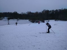 #парк #снег